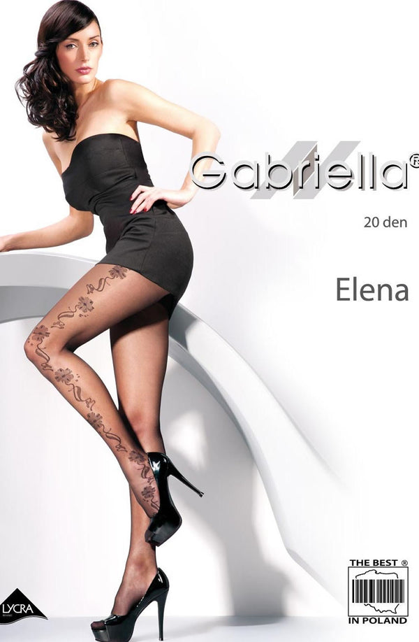Gabriella Fantasia Elena Tights Nero (Black)4 (L)