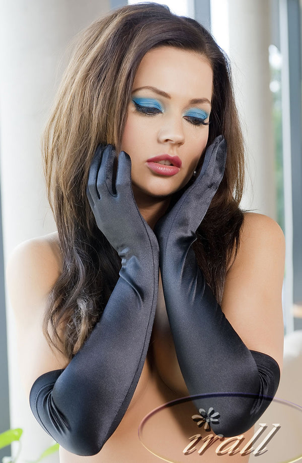 Irall Erotic Astrid Gloves Black BlackOne Size
