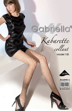 Kabaretta Collant 153-231 Tights Nero
