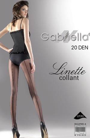 Gabriella Classic Linette Tights Nero (Black)4 (L)