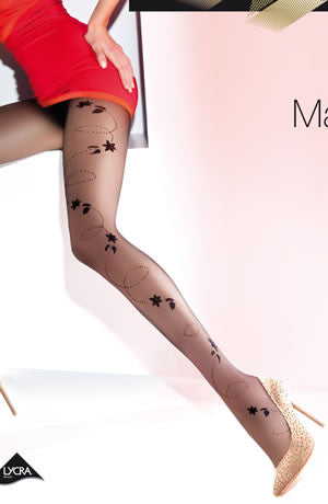 Gabriella Fantasia Marisa Tights Nero (Black)4 (L)