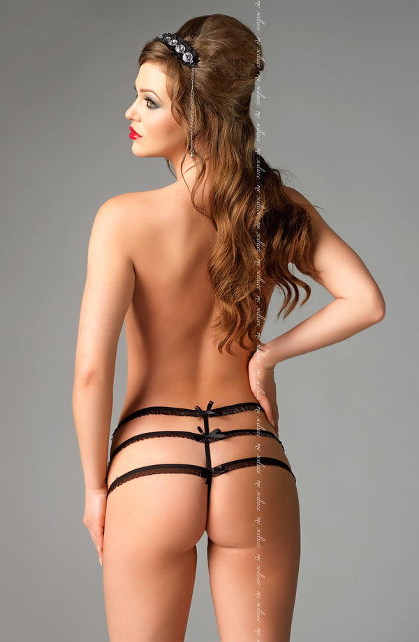 Me Seduce Me Seduce Julitte Black String BlackS/M