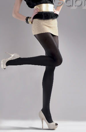 Gabriella Classic Microfibre 80 Tights Nero (Black