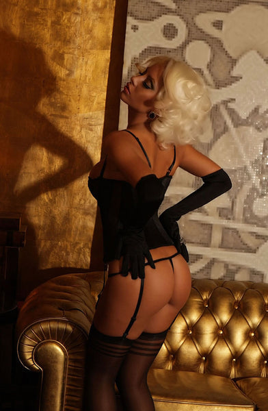 Provocative Romance Divino Corset BlackS/M