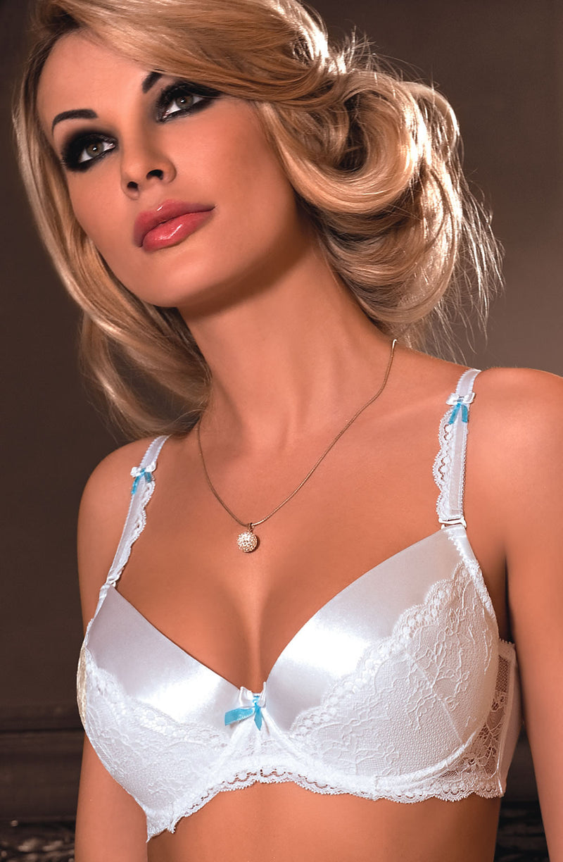 Roza Roza Fifii Push Up Bra White White38D