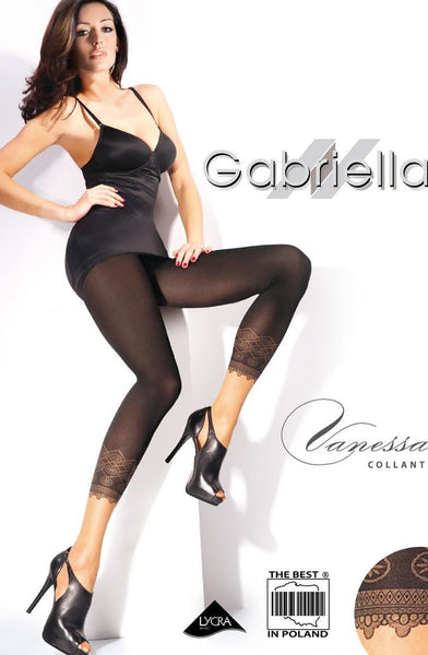 Gabriella Fantasia Vanessa Tights Nero (Black)4 (L