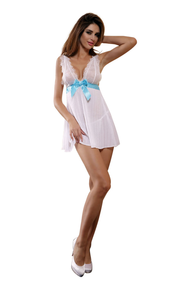 YX154 2pc Dress & Thong