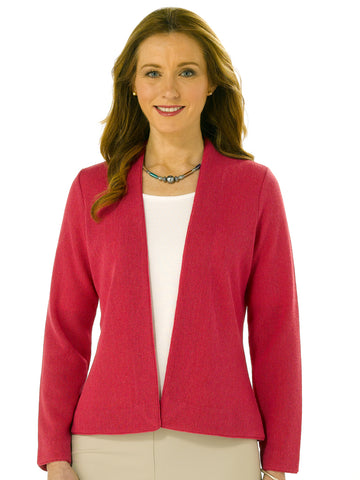 Alpaca Knitwear - Anna in Raspberry by Artisan Route