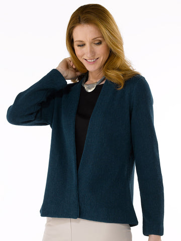 Alpaca Knitwear - Anna in Petrol Blue by Artisan Route