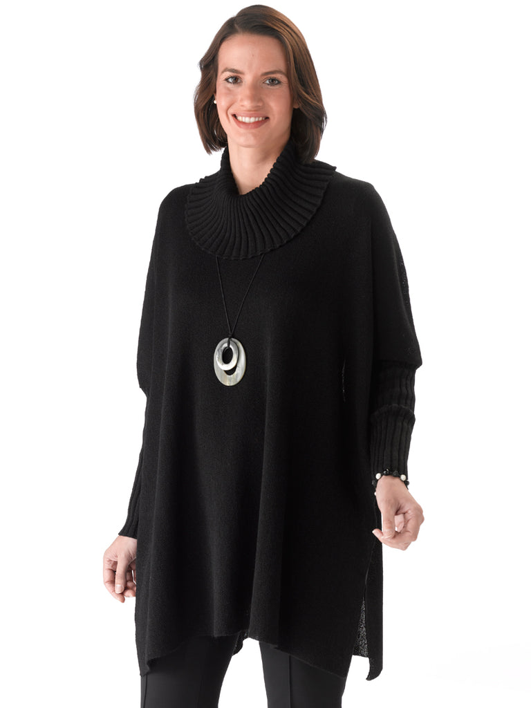 Alpaca Knitwear - Araceli in Black by Artisan Route
