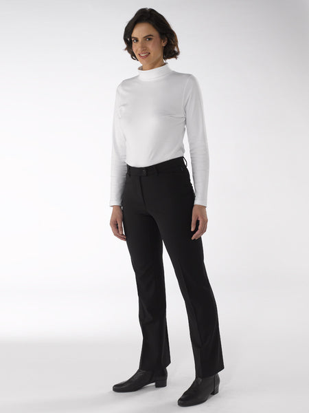 Ladies Trousers - Dora in Black at Artisan Route