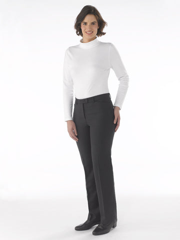 Ladies Trousers - Dora in Charcoal at Artisan Route