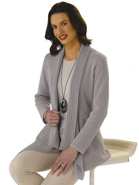 Emma in French Grey on Stool