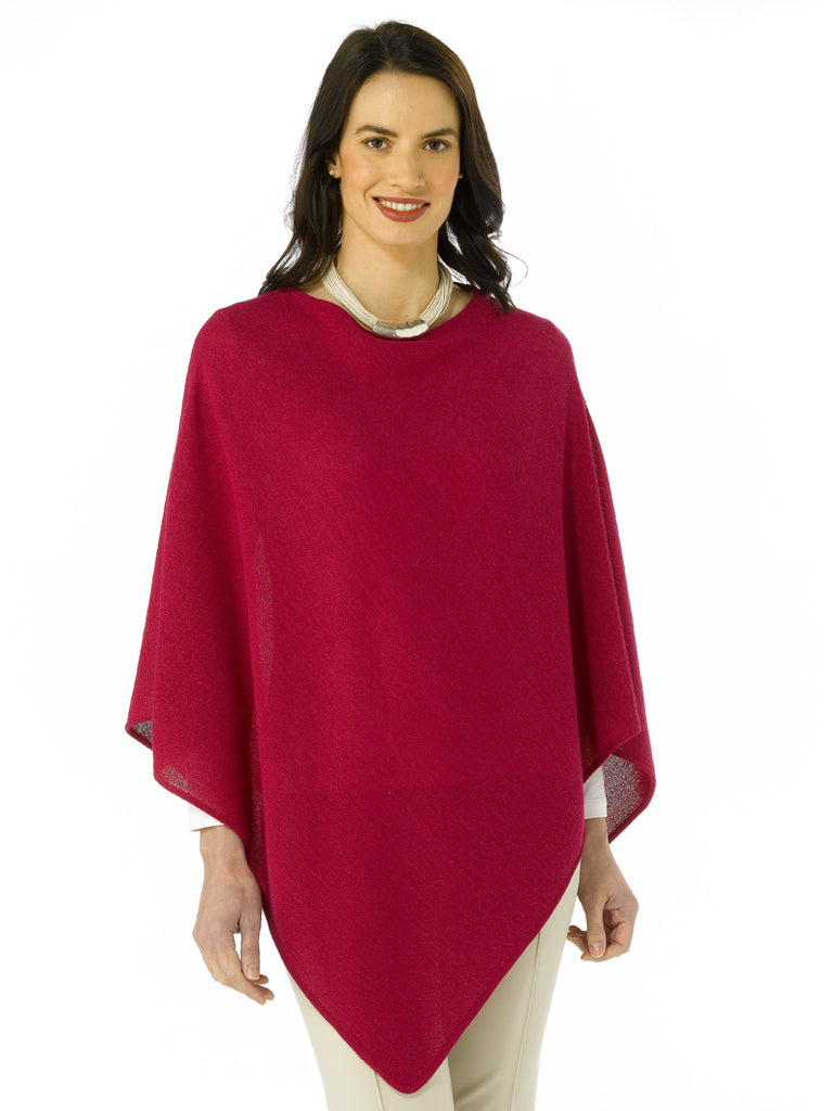 Alpaca Knitwear - Erika in Cherry by Artisan Route