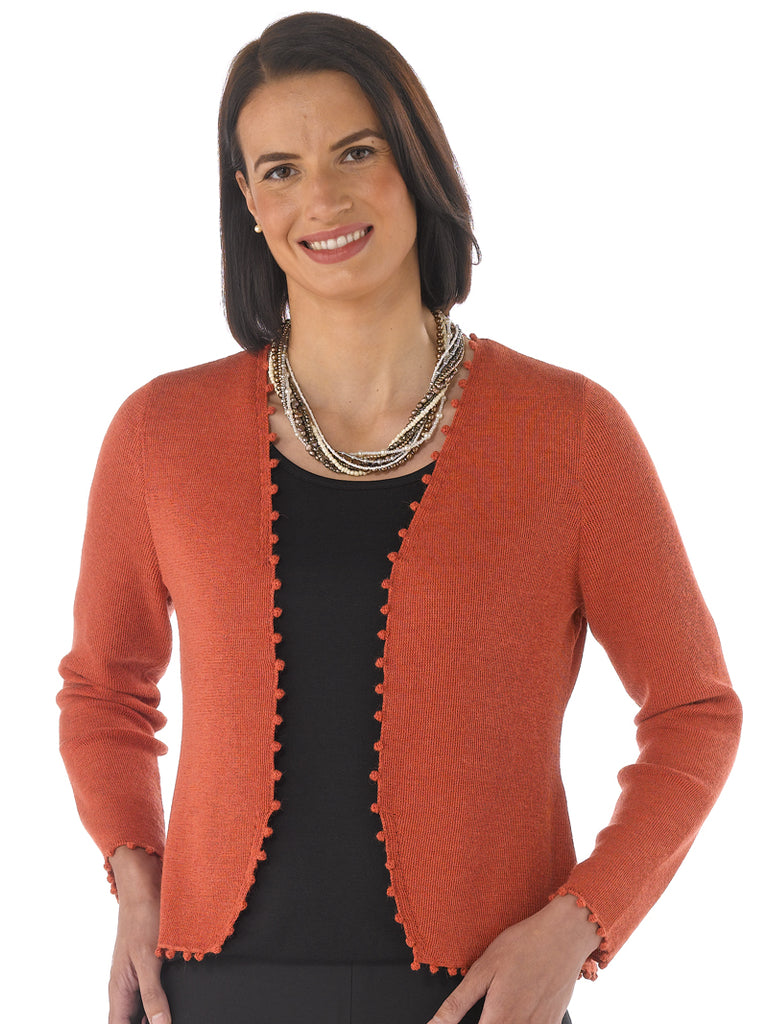 Alpaca Knitwear - Kirsty in Mecca Orange