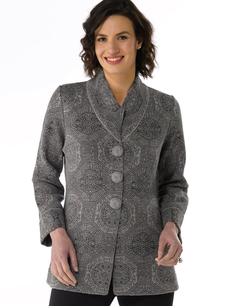 Alpaca Knitwear - Kobe Jacket by Artisan Route