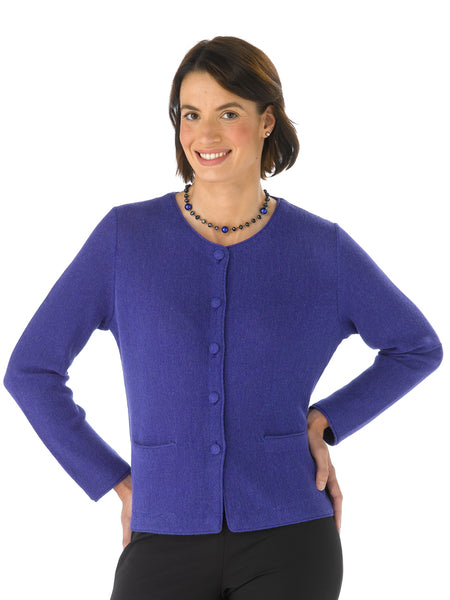 Alpaca Knitwear - Lauren in Spectrum Blue