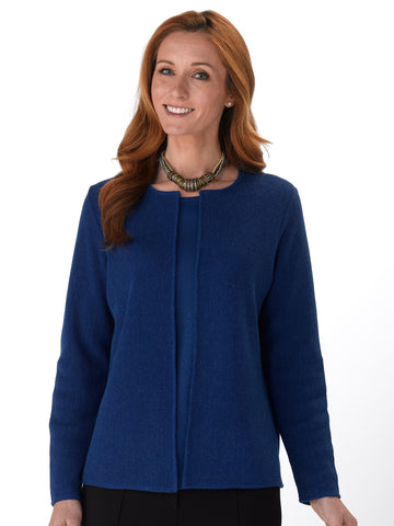 Alpaca Knitwear - Monika in Royal Blue by Artisan Route