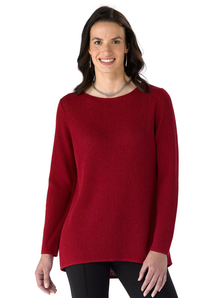 Alpaca Knitwear - Nina in Ruby by Artisan Route
