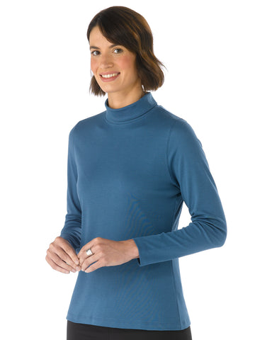 Pima Cotton T Shirt - Paula in Baltic by Artisan Route