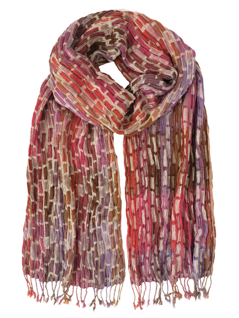 Silk Scarf - Phlox Mix by Artisan Route