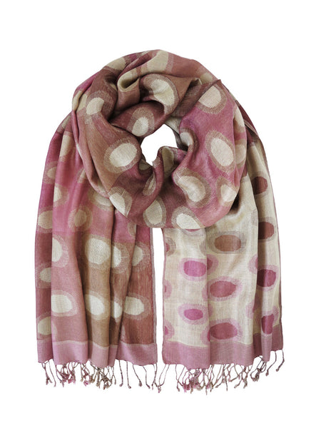 Silk Scarves - Planet Pink by Artisan Route