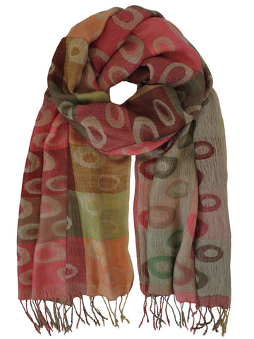 Silk Scarf - Planet Green by Artisan Route