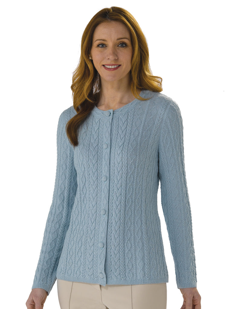 Alpaca Knitwear - Rocio in Omphalodes by Artisan Route