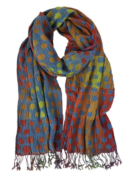 Silk Scarf - Sublime Polka Dot by Artisan Route