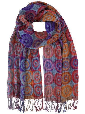 Silk Scarf - Target Flora Mix by Artisan Route