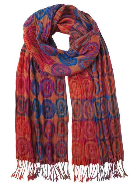 Silk Scarf - Target Fuchsia by Artisan Route