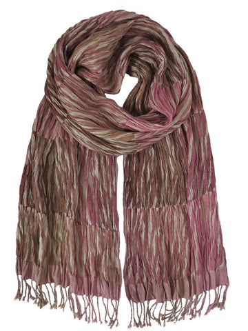Silk Scarf - Tiger Pink by Artisan Route