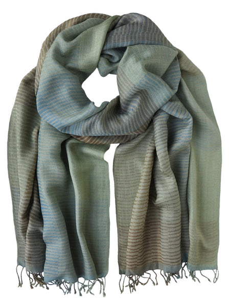Silk Scarf - Windswept Pastels by Artisan Route