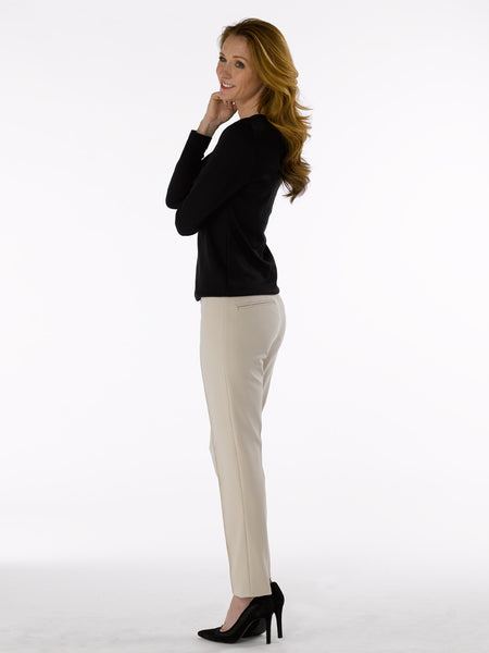 Ladies Trousers - Zene 1 in Sand inset at Artisan Route