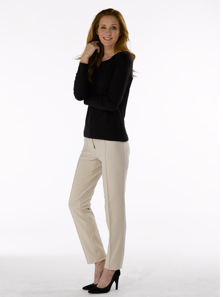 Ladies Trousers - Zene 1 in Sand at Artisan Route