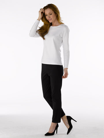 Ladies Trousers - Zene 2 in Black at Artisan Route