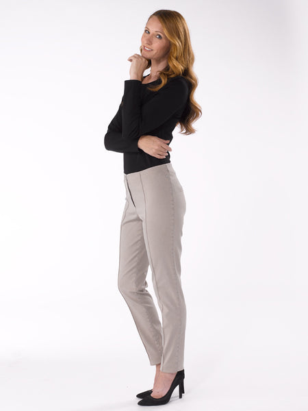 Ladies Trousers - Zene in Beige at Artisan Route