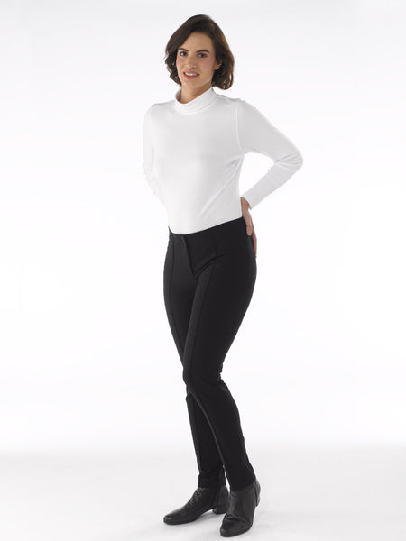 Ladies Trousers - Zene in Black at Artisan Route