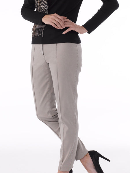 Zene 1 Trousers in Beige by Atelier Gardeur