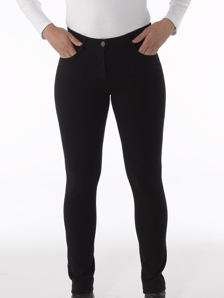 Zita 1 Trousers in Black by Atelier Gardeur