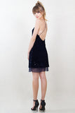 Night Sky Velvet Dress