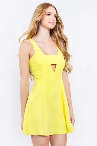Sunburst Citrus Dress
