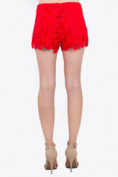 Avery Crochet Shorts