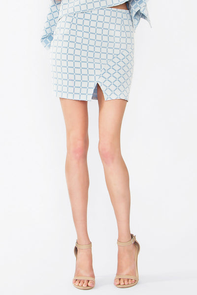 Grid Like Skirt