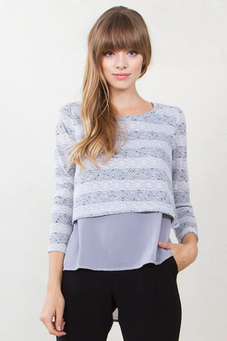 Another Level Stripe Top