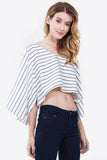Kimberly Stripe Crop Top