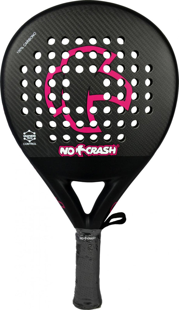 PALA NO+CRASH FUCSIA CONTROL + PROTECTOR 100% CARBONO  DE REGALO