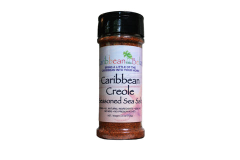 Caribbean Creole Seasoned Sea Salt - The Best Season All on the Market - A Spice Rack Staple