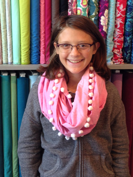 Infinity Scarf (Kid or Tween Beginner)