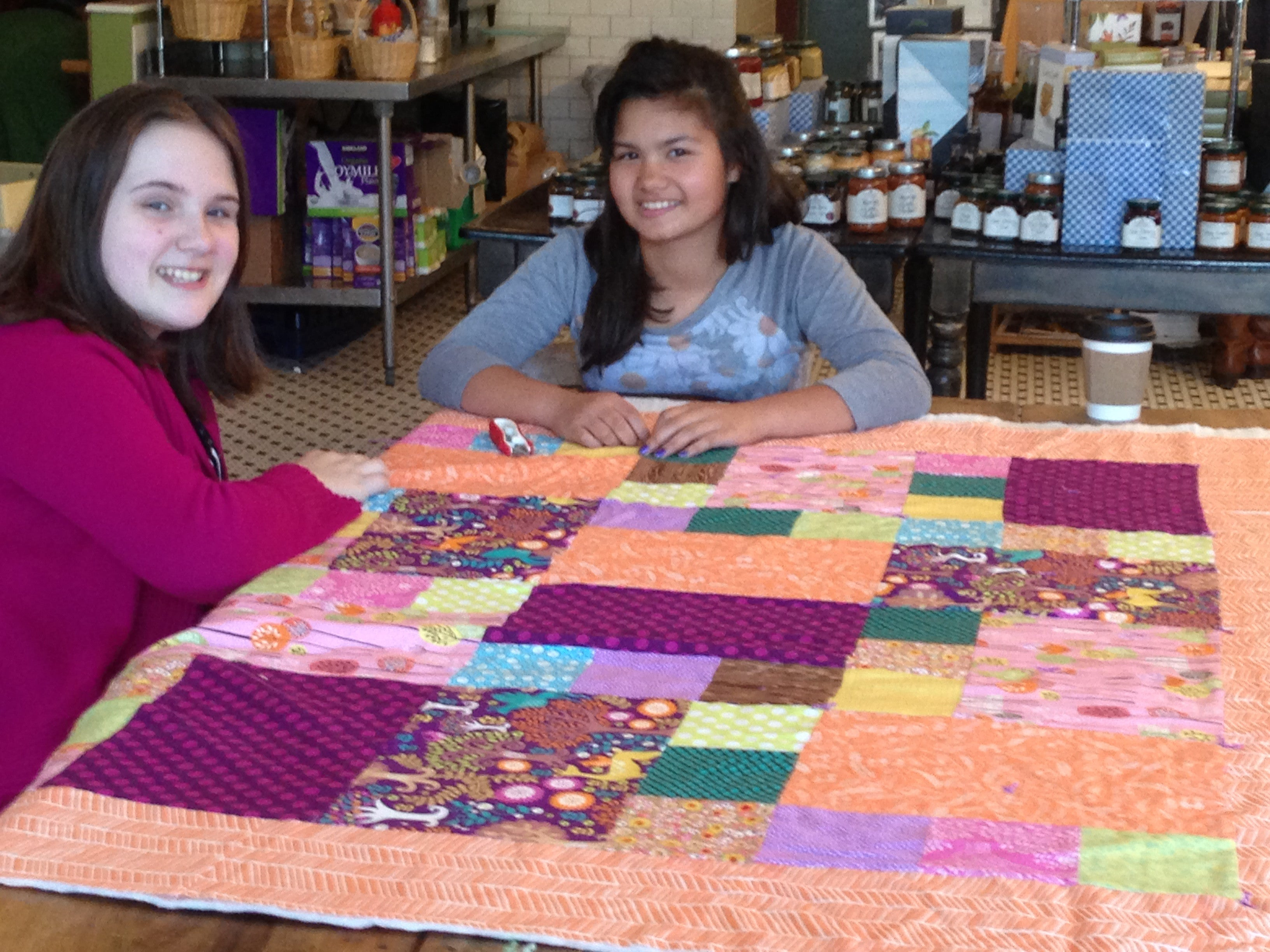Learn To Quilt Series (Kid or Tween Advanced Beginner) - The ... : learn quilting - Adamdwight.com